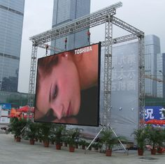 PH6.25mm Outdoor waterproof video full color rental led billboard advertising panels LED advertising board P10 P12 P16
